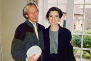Paavo Turtiainen and Isabella Rossellini in Paris