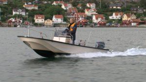 Paavo Turtiainen in Fjällbacka, Sweden